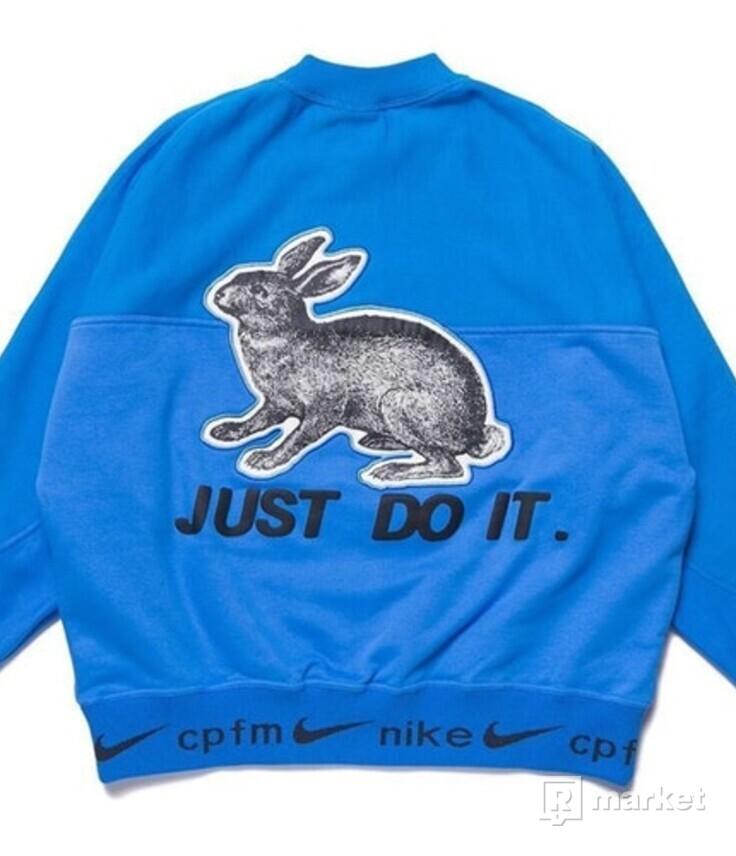 Nike x Cactus Plant Flea Market Fleece Crewneck Blue