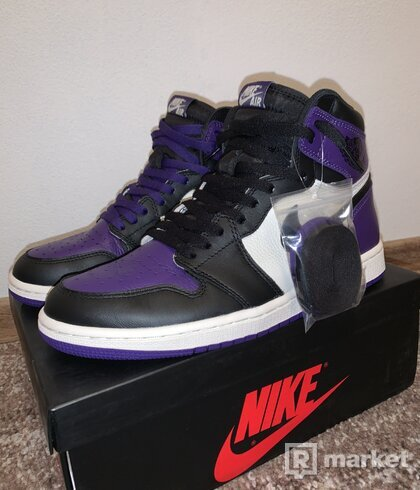 Jordan 1 Court purple 1.0 retro