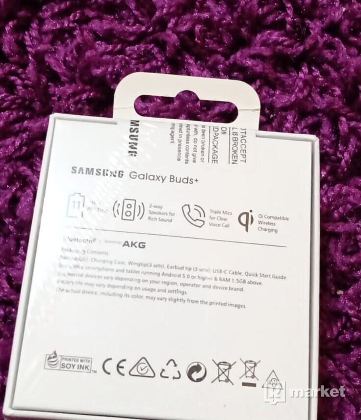 Samsung Galaxy Buds + White - nerozbalené,vo fólií