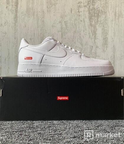 Nike Air Force 1 x Supreme White (US 12)