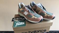 New Balance 991 Patta