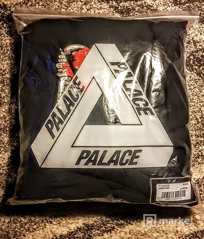 Palace Jheeze Hood Black