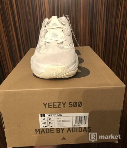 Yzy 500 Bone White 46 2/3