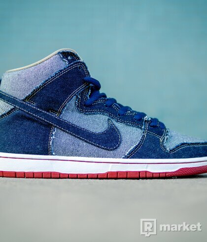 Nike SB Dunk high Reese Forbes Denim 2016