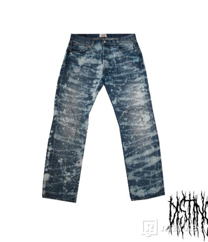 Custom Levis jeans