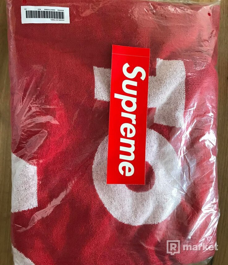 Supreme Known As Towel Red