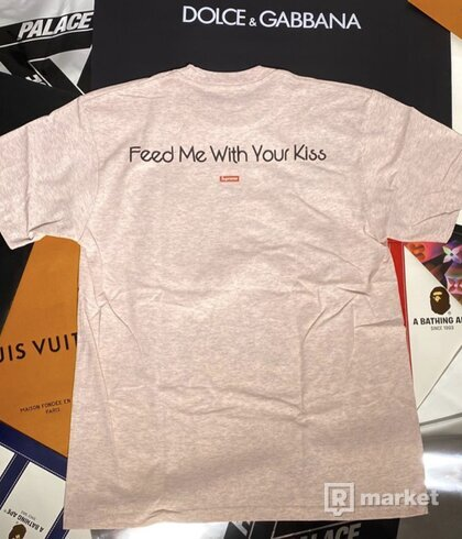 Supreme x My Bloody Valentine Feed Me With Your Kiss Tee