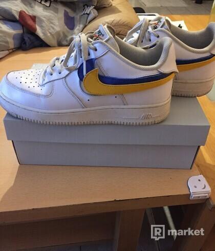 Nike Air Force Swoosh Pack White Box