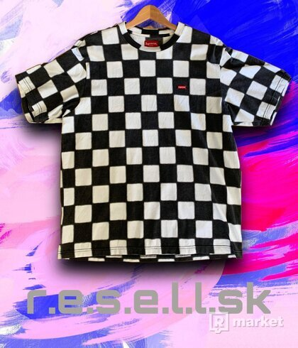 Supreme Small Box Checkerboard