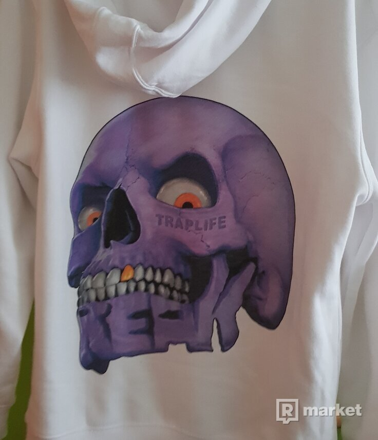 Predávam zip hoodie Traplife x Freak