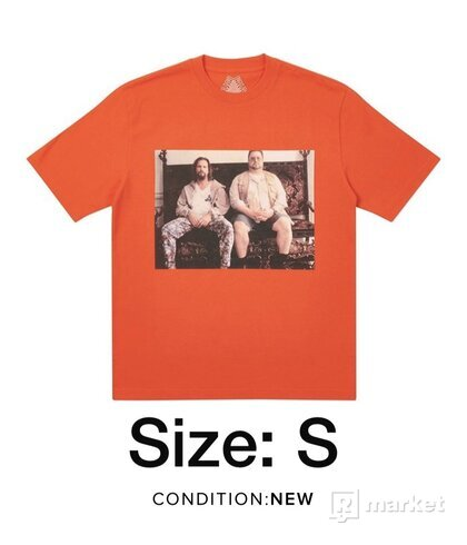 Palace dude t-shirt dark Orange