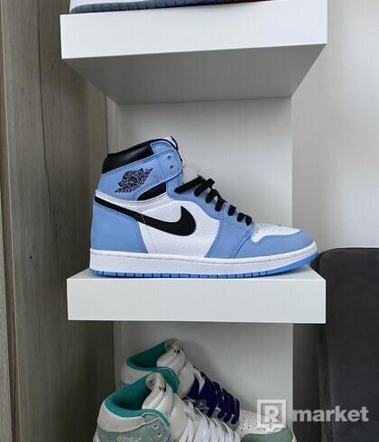 Jordan 1 Unyversity blue