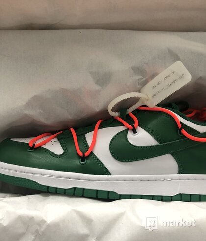 Predam Nike x Off White Low Dunk Pine Green