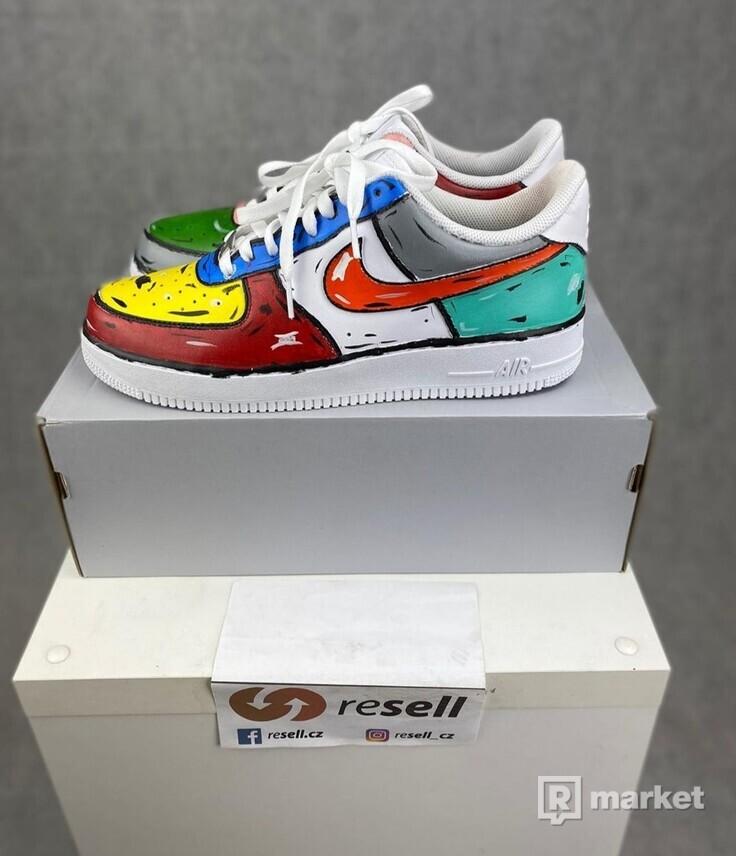 Nike Air force low cartoon custom