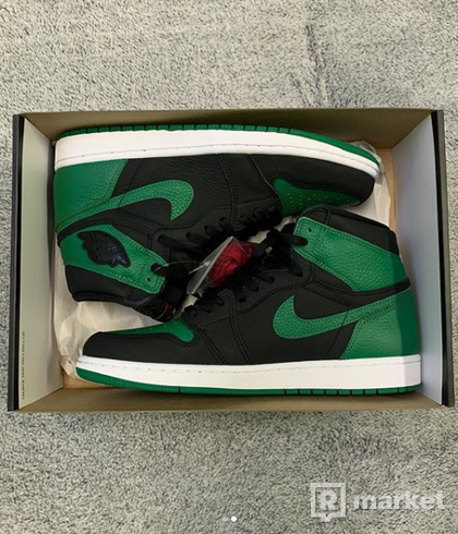 Air Jordan 1 Pine Green 44.5