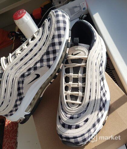Nike Air Max 97 Premium Plaid Light Cream