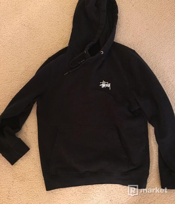Stussy hoodie black