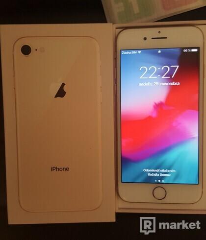 Iphone 8 Gold 64GB TOP STAV