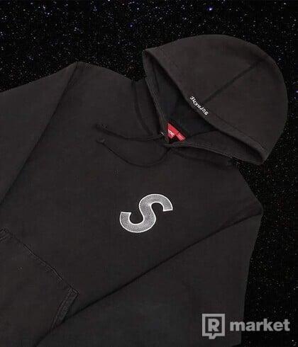 Supreme S logo hoodie