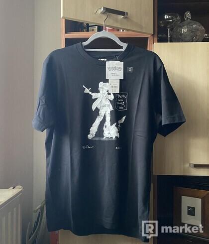 DANIEL ARSHAM POKEMON tričko čierne