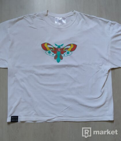 My Dear Clothing - white butterfly tee