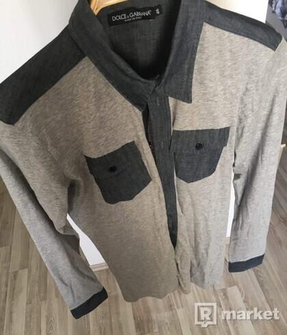 DOLCE & GABBANA - nová pánska košeľa