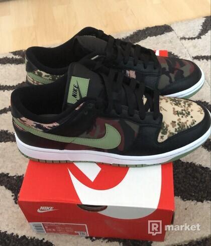 Nike dunk low crazy camo