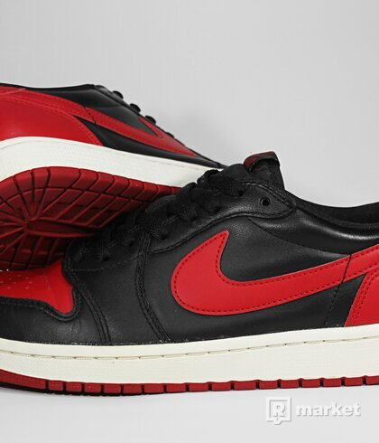 "Air Jordan Retro 1 Low OG ""Bred"" 2015"