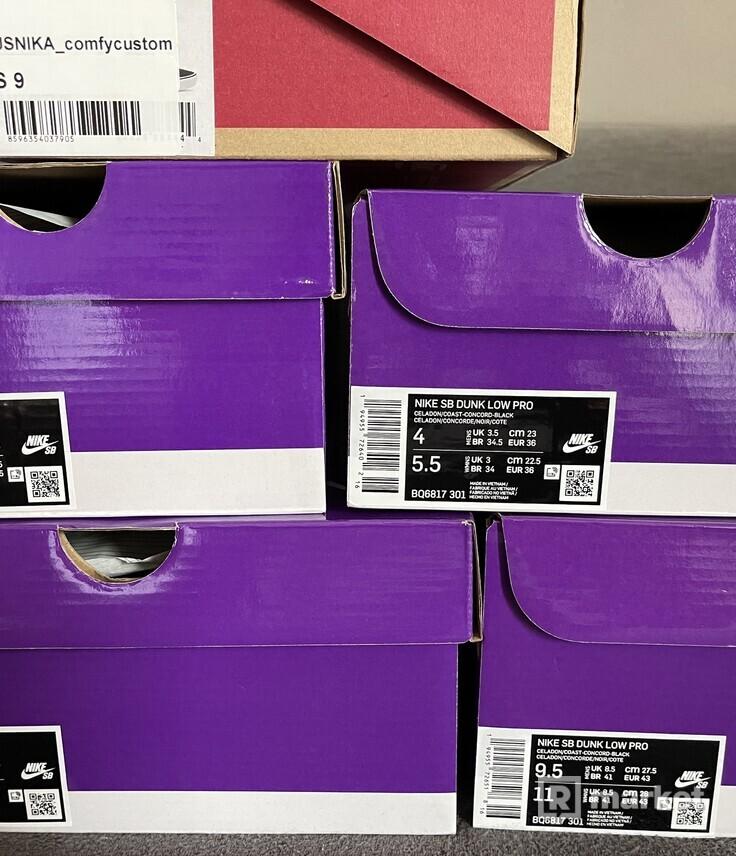 Nike SB Dunk Low Pro Reverse Papa Bear/Pelle Hat