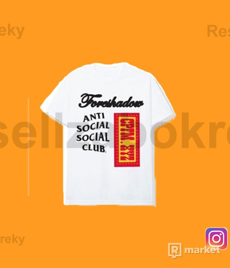 Anti Social Social Club x CPFM Tee White