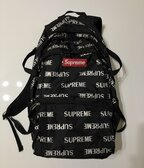 Supreme FW16 Repeat Backpack Black