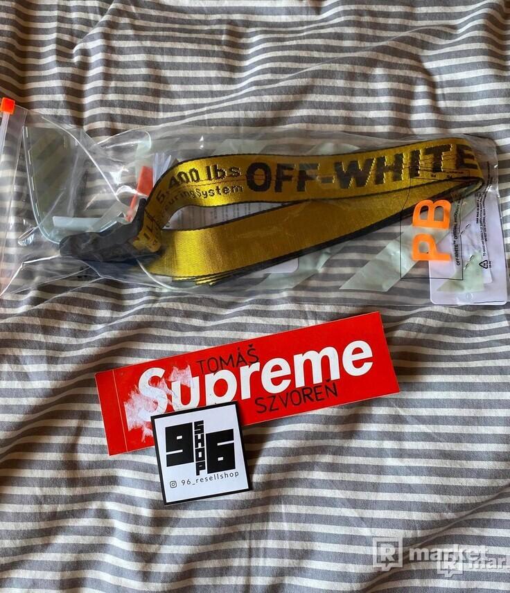 OFF-WHITE belt 35mm Veľkosť: 205cm