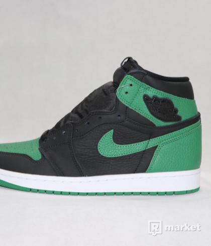 Air Jordan retro 1 Pine green