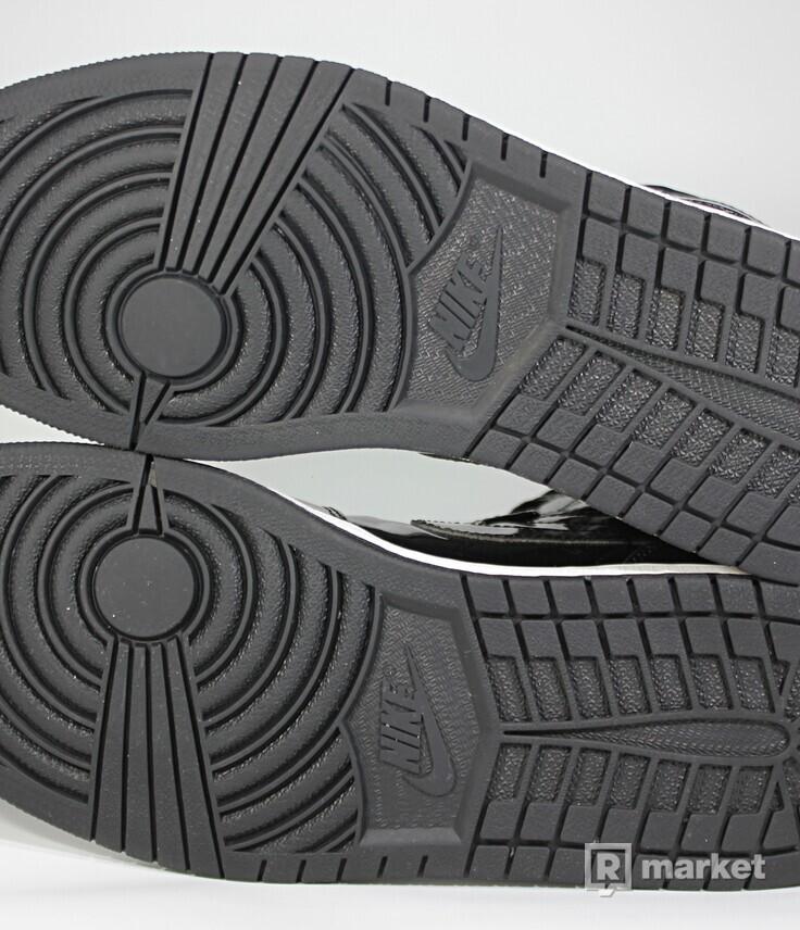 "Air Jordan Retro 1 High ""Black Patent"" 2016"