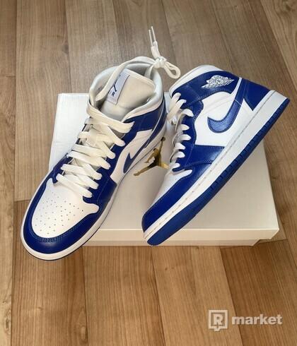 Air Jordan 1 mid Kentucky Blue vel. 40.5