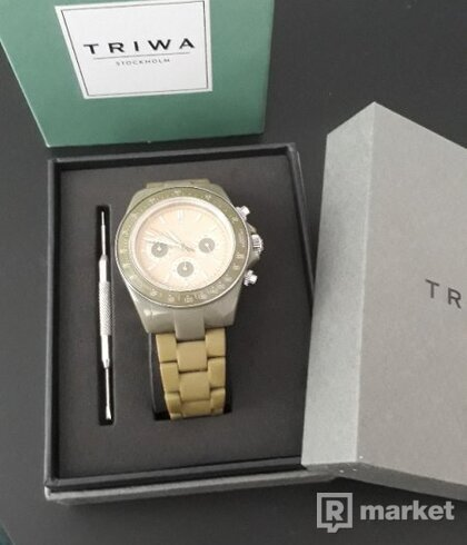 TRIWA - 3x unisex hodinky