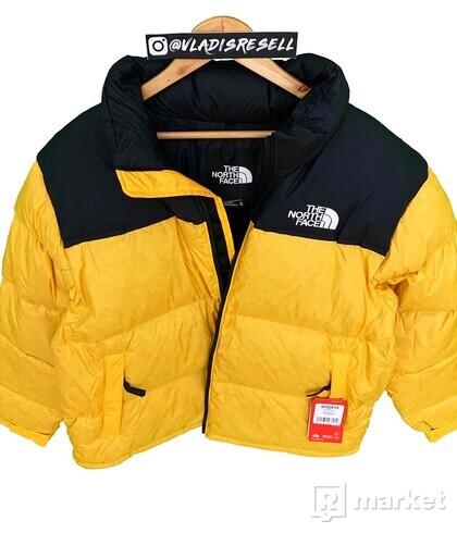 TNF 1996 Nuptse Jacket Yellow