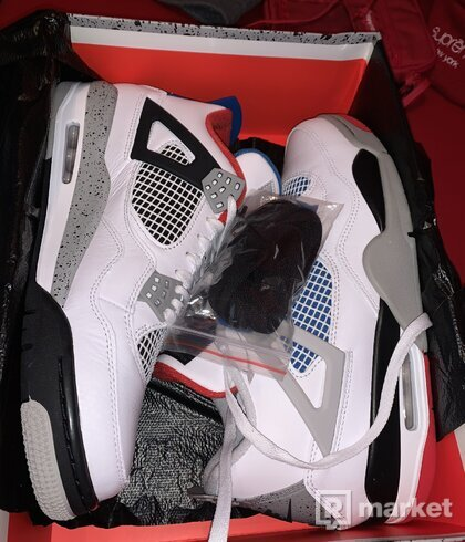 Air Jordan retro 4 What The 44 DS