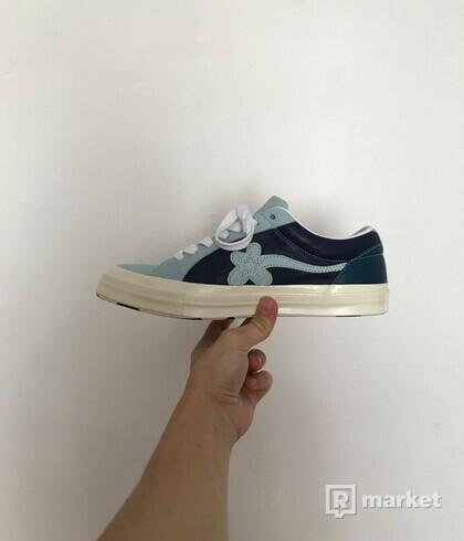 Converse x Golf Le Fleur * Baby Blue / Royal blue Shoes