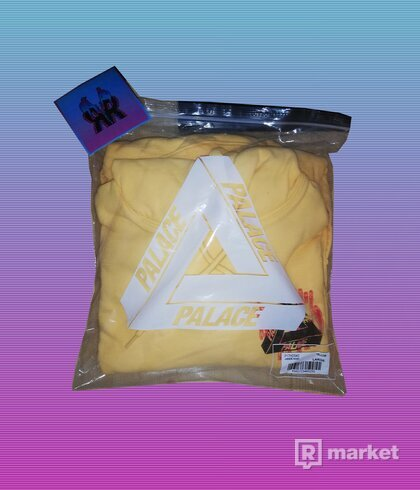 "PALACE JHEEZE HOOD ""YELLOW"""