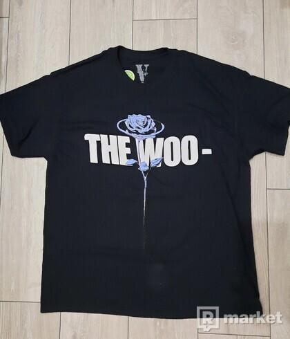 Pop Smoke x Vlone The Woo T-Shirt Black