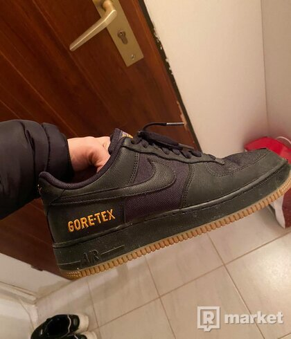 Nike air force one gore-tex blackk