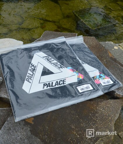 Palace Tri Camo Tee Black