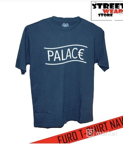 Palace EURO T-Shirt Navy