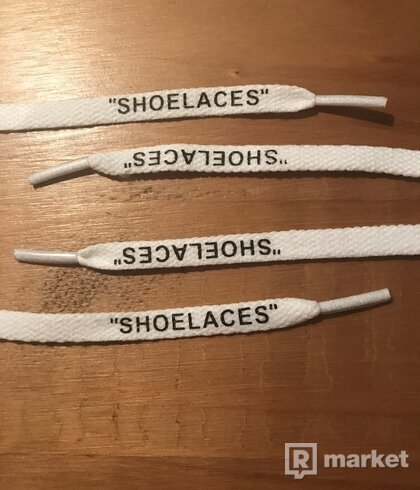 "OFF WHITE ""SHOELACES"""