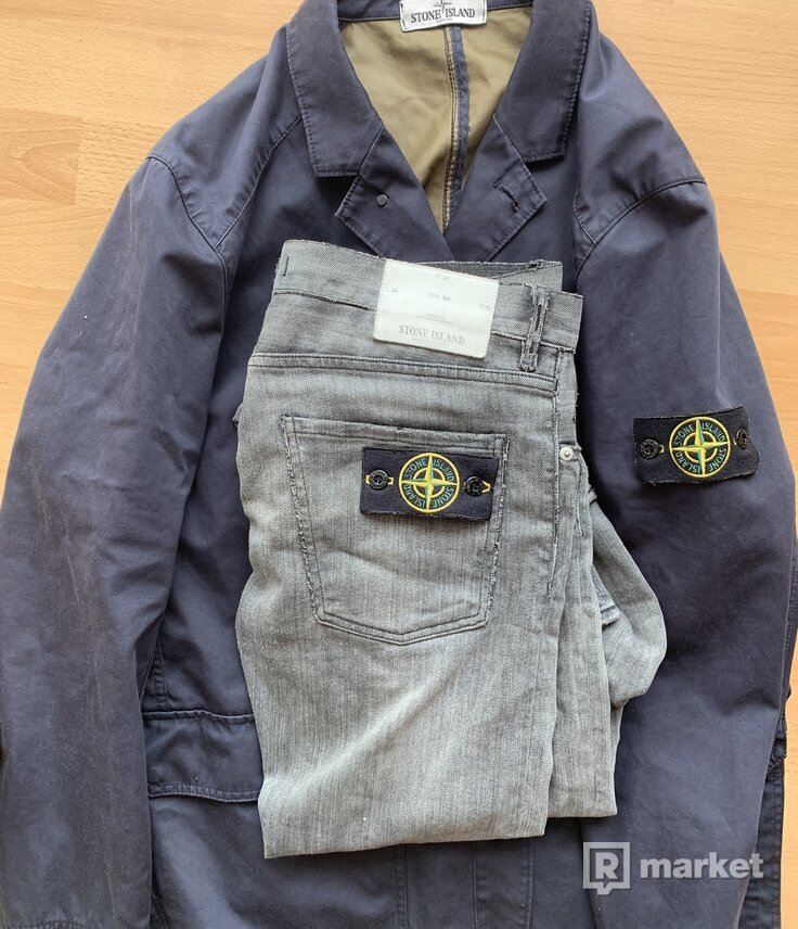 Stone Island jacked and jeans