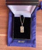 Palace Blackberry Pendant Gold
