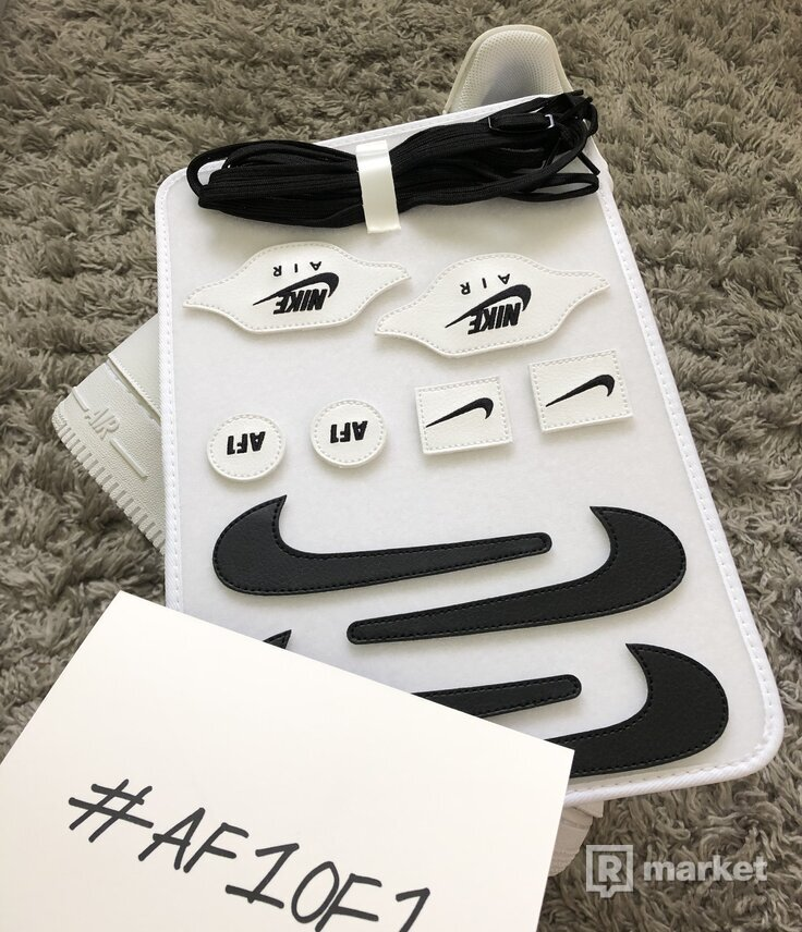 Nike Air Force 1/1 white