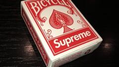 Supreme mini playing cards