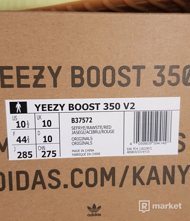"""Yeezy boost 350 """"semi frozen"""""""